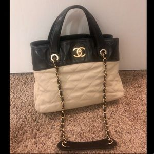 Chanel in the mix 2way tote bag